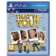 That's You - PS4 - Konzol játék
