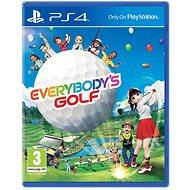 Everybody's Golf - PS4 - Konzoljáték