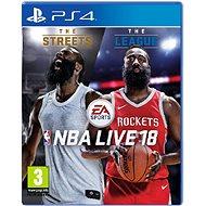 NBA Live 18 - PS4 - Konzoljáték