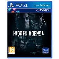 Hidden Agenda - PS4 - Konzol játék