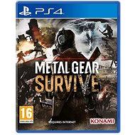 Metal Gear Survive - PS4 - Konzol játék