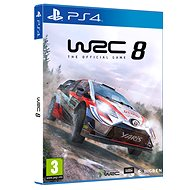WRC 8 The Official Game - PS4 - Konzoljáték