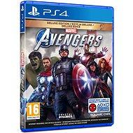Marvels Avengers: Deluxe Edition - PS4 - Konzol játék