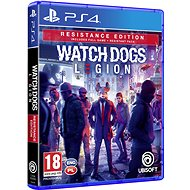 Watch Dogs Legion Resistance Edition - PS4 - Konzol játék