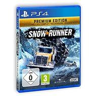 SnowRunner Premium Edition - PS4 - Konzol játék