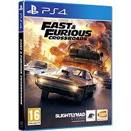Fast and Furious Crossroads - PS4 - Konzol játék