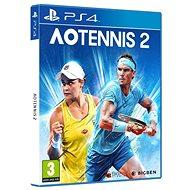 AO Tennis 2 - PS4 - Konzol játék