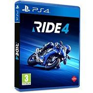 RIDE 4 - PS4 - Konzoljáték