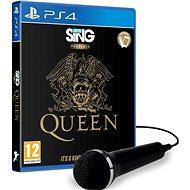 Lets Sing Presents Queen + microphone - PS4 - Konzol játék
