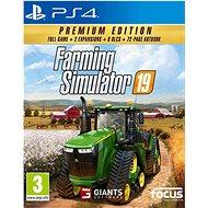 Farming Simulator 19: Premium Edition - PS4 - Konzol játék