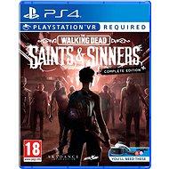 The Walking Dead: Saints and Sinners - Complete Edition - PS4 VR - Konzol játék