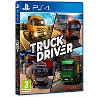 Truck Driver - PS4 - Konzol játék