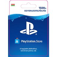 PlayStation Store - 1500 Ft - PS4 HU Digital - Feltöltőkártya