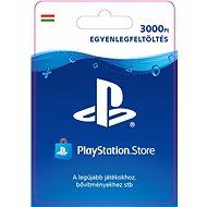 PlayStation Store - 3000 forintos feltöltőkártya - HU digitális - Feltöltőkártya
