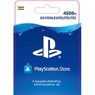 PlayStation Store - 4500 forintos feltöltőkártya - HU digitális - Feltöltőkártya