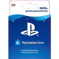 PlayStation Store - 9000 forintos feltöltőkártya - HU digitális - Feltöltőkártya