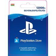 PlayStation Store - 12000 forintos feltöltőkártya - HU digitális - Feltöltőkártya
