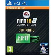 500 FIFA 18 Points Pack - PS4 HU Digital - Játékbővítmény