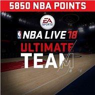 NBA Live 18 Ultimate Team - 5850 NBA points - PS4 HU Digital - Játékbővítmény