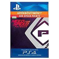 NFS Payback 500 Speed Points - PS4 HU Digital - Játékbővítmény