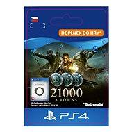 The Elder Scrolls Online: 21000 Crowns - PS4 HU Digital - Játékbővítmény