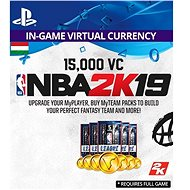 15,000 VC NBA 2K19 - PS4 HU Digital - Játékbővítmény
