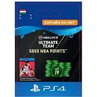 5850 NBA POINTS - PS4 HU Digital - Játékbővítmény