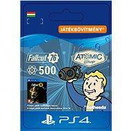 Fallout 76: 500 Atoms - PS4 HU Digital - Játékbővítmény