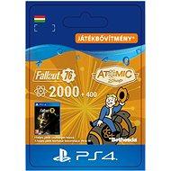 Fallout 76: 2000 (+400 Bonus) Atoms - PS4 HU Digital - Játék kiegészítő