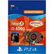 Fallout 76: 4000 (+1000 Bonus) Atoms - PS4 HU Digital - Játék kiegészítő
