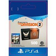 Tom Clancys The Division 2 - 500 Credits- PS4 HU Digital - Játékbővítmény