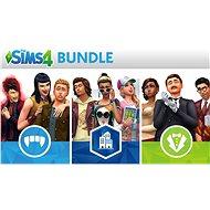 The Sims 4: Bundle (City Living, Vampires and Vintage Glamour Stuff) - PS4 HU Digital - Játékbővítmény