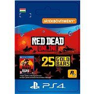 Red Dead Redemption 2: 25 Gold Bars - PS4 HU Digital - Játékbővítmény