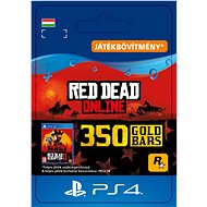 Red Dead Redemption 2: 350 Gold Bars - PS4 HU Digital - Játékbővítmény