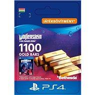 Wolfenstein: Youngblood - 1100 Gold Bars - PS4 HU Digital - Játékbővítmény