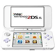 Nintendo NEW 2DS XL White & Levander Green + Tomodachi Life - Játékkonzol