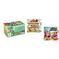 Nintendo NEW 2DS XL Animal Crossing Edition + Animal Crossing: Happy Home Designer + Kirby Battle Ro - Játékkonzol