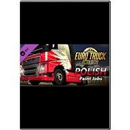 Euro Truck Simulator 2 - Polish Paint Jobs Pack - Játék kiegészítő