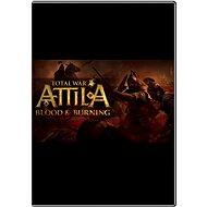 Total War: ATTILA - Blood & Burning - Játék kiegészítő