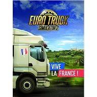 Euro Truck Simulator 2 – Vive la France! (PC)  DIGITAL - Játék kiegészítő