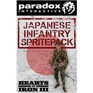 Hearts of Iron III: Japanese Infantry Sprite Pack (PC) DIGITAL - Játék kiegészítő