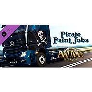 Euro Truck Simulator 2 – Pirate Paint Jobs Pack (PC) DIGITAL - Játék kiegészítő