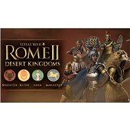 Total War: Rome II Desert Kingdoms Culture Pack DLC (PC) DIGITAL - Játék kiegészítő
