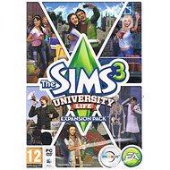 The Sims 3: Student life (PC) DIGITAL - Játék kiegészítő