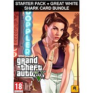 Grand Theft Auto V + Criminal Enterprise Starter Pack + Great White Shark Card (PC) DIGITAL - PC játék
