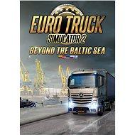 Euro Truck Simulator 2: Beyond the Baltic Sea (PC) DIGITAL - Játék kiegészítő