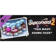 Overcooked! 2 - Too Many Cooks Pack (PC) Steam Key - Játék kiegészítő