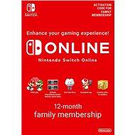 365 Days  Online Membership (Family) - Nintendo Switch Digital - Feltöltőkártya
