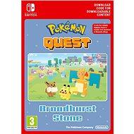 Pokémon Quest Broadburst Stone DLC - Nintendo Switch Digital - Játék kiegészítő