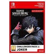 Super Smash Bros Ultimate - Joker Challenger Pack - Nintendo Switch Digital - Játék kiegészítő